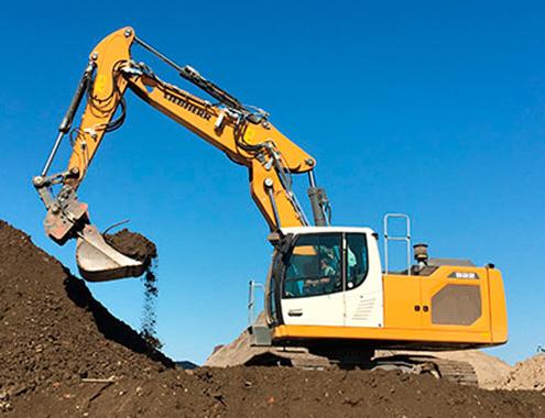 Excavadoras sobre cadenas de la generación 8 para diversas aplicaciones