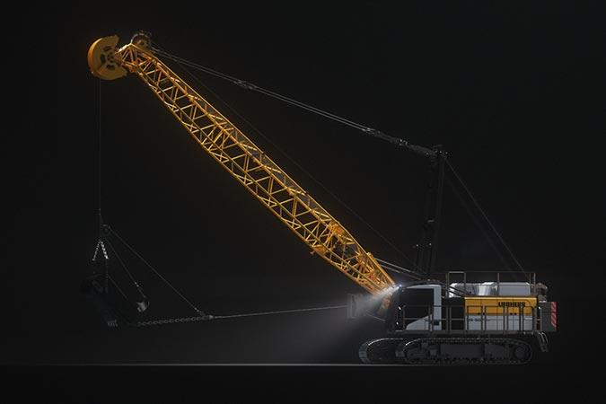 Estreno mundial Liebherr: Tres nuevas máquinas y un nuevo diseño  3