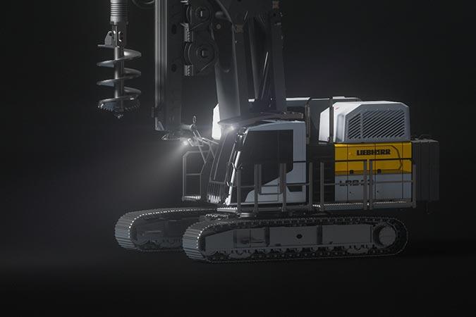 Estreno mundial Liebherr: Tres nuevas máquinas y un nuevo diseño  2