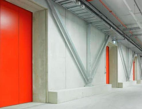Hörmann presenta sus nuevas puertas correderas cortafuegos (FST)