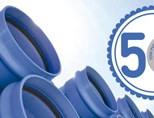 TOM®, tuberías con 50 años de garantía. El I+D español que ha revolucionado el mercado mundial del transporte de agua a presión