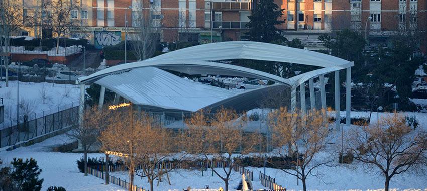 ¿Por qué se han desplomado tantas cubiertas por la nieve del temporal Filomena?