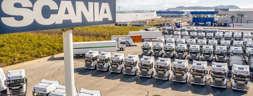 Intercox adquiere 60 nuevos 450 S de Scania