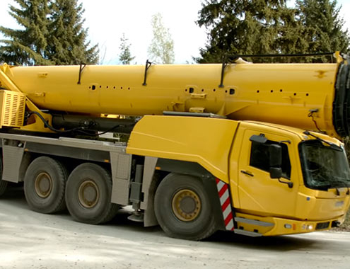 La Grove GMK5250L proporciona elevaciones precisas en mina peruana