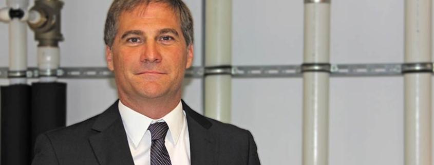 Sergio Ruiz como Uponor Commercial Sales Manager para Iberia