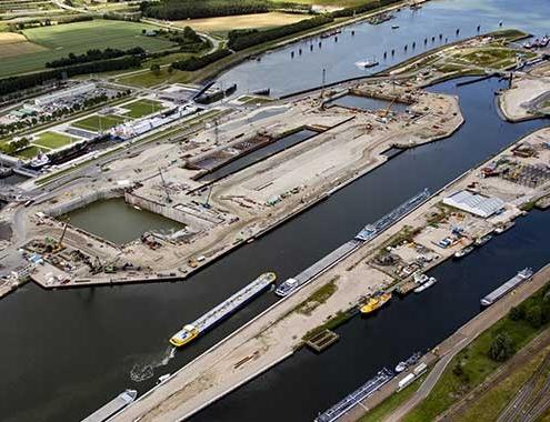 Allplan Bimplus ayuda a construir una de las mayores esclusas del mundo