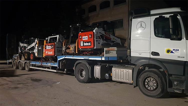 Máquinas de toda España acuden a la capital tras el paso de Filomena - 2