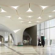 Hunter Douglas Architectural diseña un techo con forma de flor para el metro de Catar