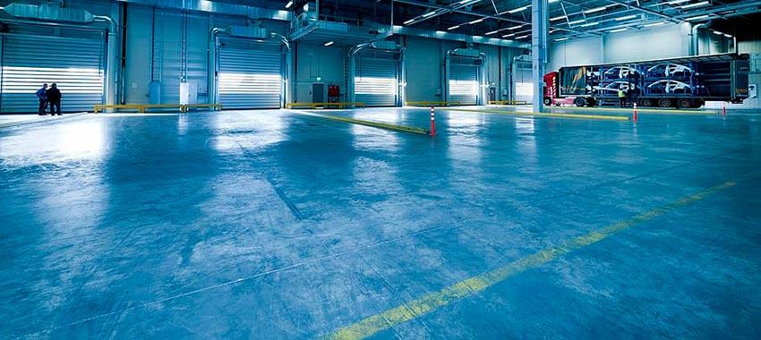 Pavimentos industriales de epoxi y poliuretano