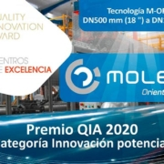 Molecor, galardonada con el Premio QIA 2020