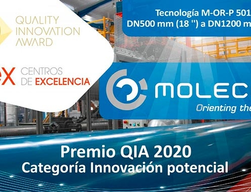 Molecor, galardonada con el Premio QIA 2020
