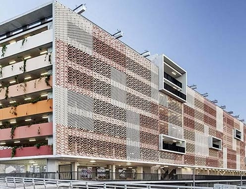 Flexbrick ® en la renovación del Parking Saint Roch
