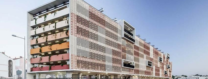 Flexbrick ® en la renovación del Parking Saint Roch