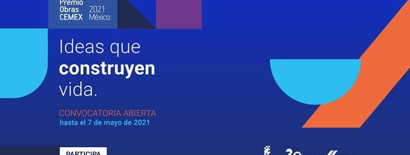 Se abre la convocatoria al Premio Obras CEMEX 2021