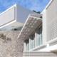 Sistema SATE y revocos de fachada Sto en la construcción de New Folies