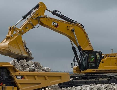 La nueva Excavadora Cat ® 395 de Nueva Generación