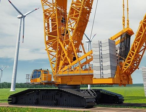 Liebherr presenta la nueva grúa sobre orugas de 700 toneladas, LR 1700-1.0