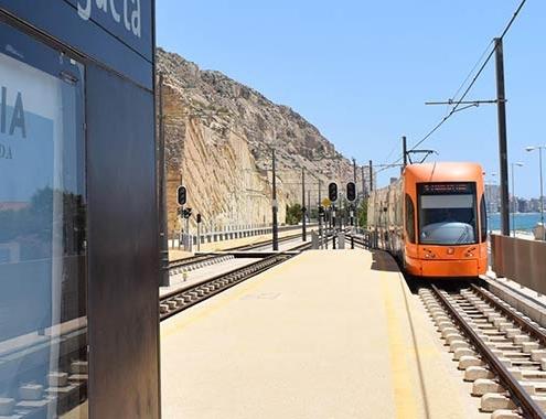 Thales modernizará la línea 5 del TRAM d'Alacant para ofrecer un mejor servicio