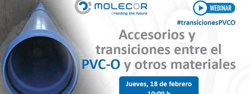 Webinar: Accesorios y transiciones entre el PVC-O y otros materiales