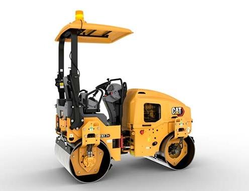 Caterpillar lanza siete compactadores de 2 a 3 toneladas métricas