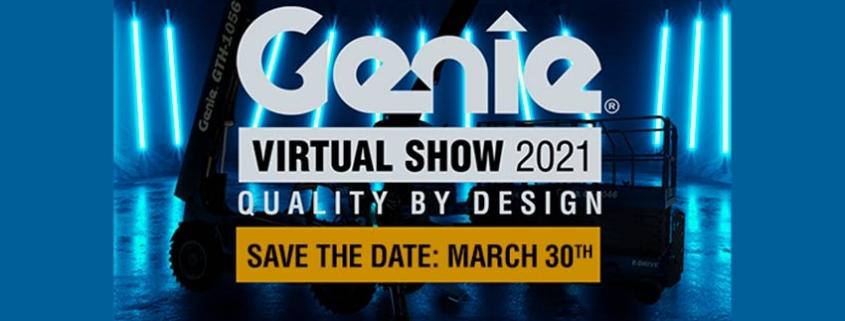 Genie ® anuncia evento virtual el 30 de marzo