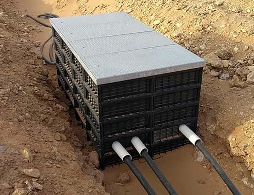 Arquetas HIDROSTANK en el primer parque eólico de Arabia Saudita