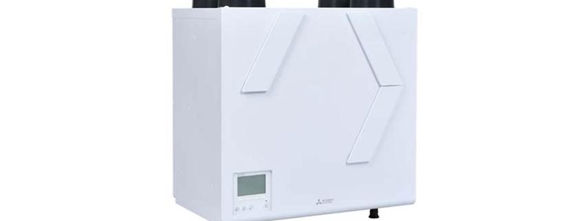 Nuevo sistema de ventilación Lossnay vertical de alta eficiencia energética