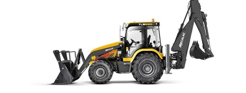 Mecalac presenta la nueva retrocargadora TLB880
