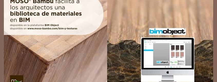 MOSO ® facilitará su biblioteca de materiales de bambú en BIM