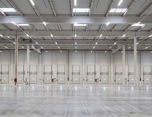Estudio de sostenibilidad y eficiencia de edificios industriales Montepino