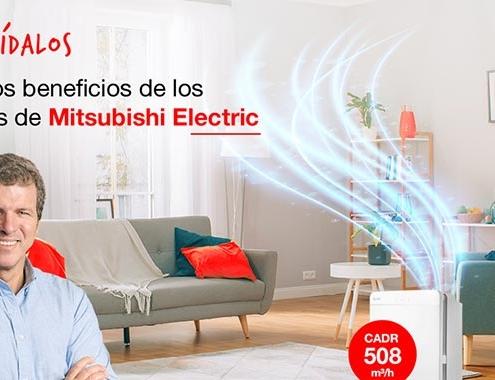 Herramienta on line para Purificadores Mitsubishi Electric