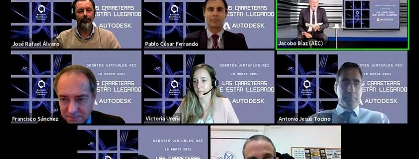 Debates virtuales AEC: uso de BIM en infraestructuras viarias