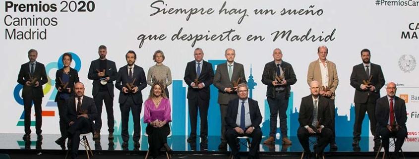 Caminos Madrid ha celebrado la XIII edición de sus Premios Anuales