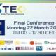 Abierta la inscripción a la Conferencia final del proyecto MUSTEC