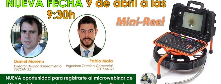 Tecsan organiza un microwebinar sobre Mini-Reel