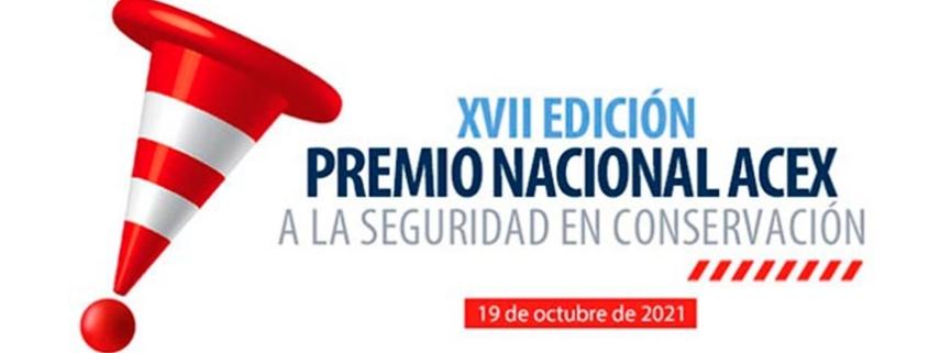 Nueva edición del XVII PREMIO NACIONAL ACEX a la seguridad en conservación