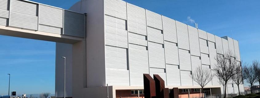 BigMat Garro en la construcción del Hospital I-Impact Covid Arnau