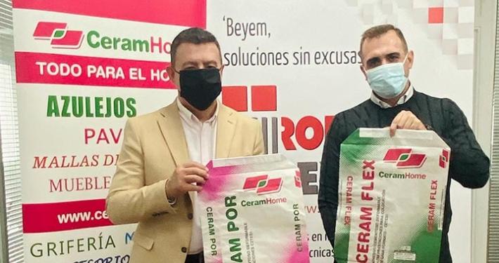 Rodacal Beyem elegida por Ceramhome para adhesivos cementosos