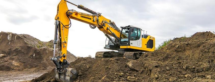 Nueva excavadora sobre cadenas de Liebherr R928 G8