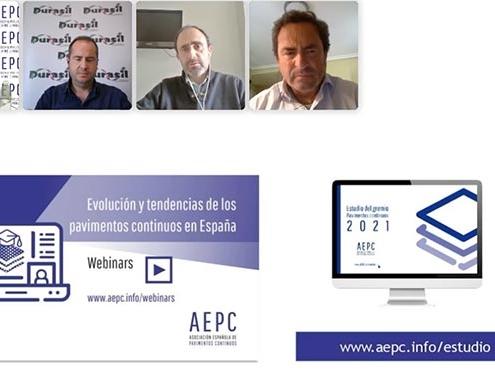 MC Spain participa en la presentación del primer estudio de pavimentos continuos de AEPC