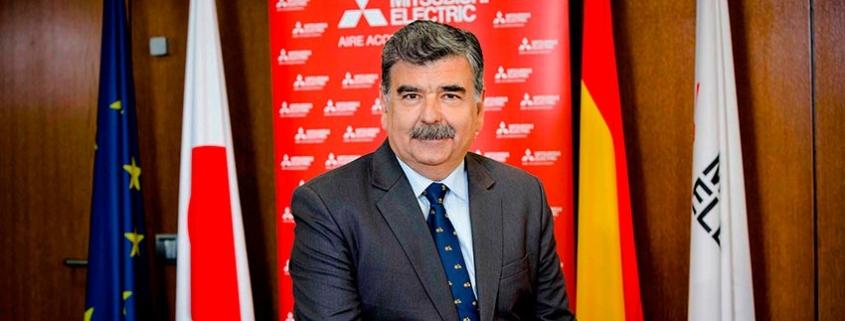 Pedro Ruiz Gómez, presidente de Mitsubishi Electric Europe, B.V, España