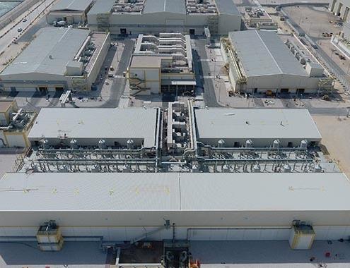 ACCIONA completa las pruebas finales en la ampliación de la desalinizadora por ósmosis inversa de Umm Al Houl.
