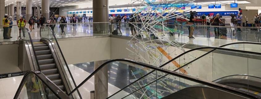 Schindler, responsable de la movilidad vertical del aeropuerto internacional Salt Lake City