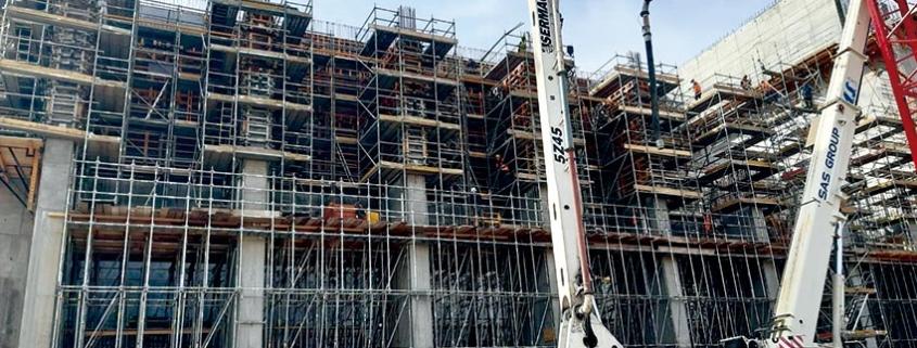 Cimbra MK en la construcción de la Planta de Conversión de Residuos