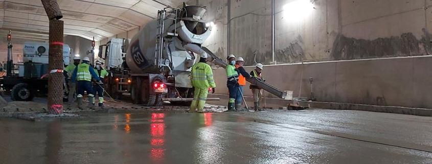 CEMEX participa en la rehabilitación del túnel de las Glòries