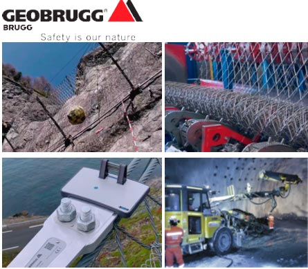 125 años de éxito del Grupo Brugg - Geobrugg