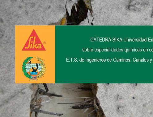 Cátedra SIKA: avances en las mejoras de las prestaciones del hormigón