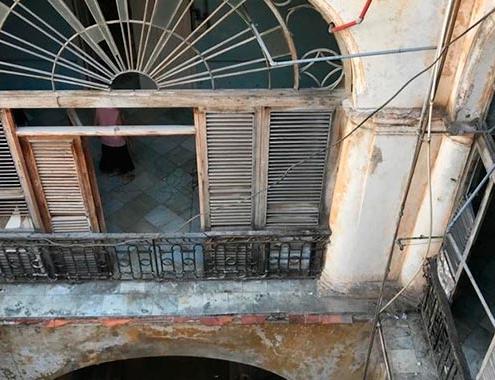 Rehabilitación de un edificio señorial del siglo XX en La Habana