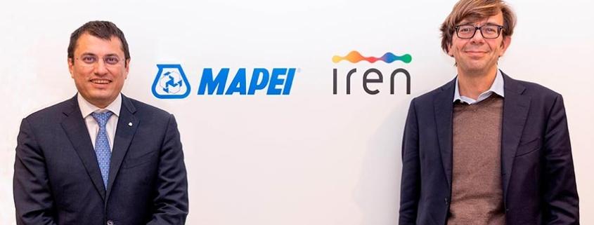 Acuerdo de economía circular entre las empresas Mapei e Iren