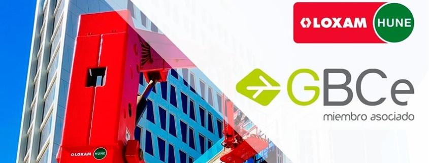 LoxamHune se asocia a Green Building Council España GBCe